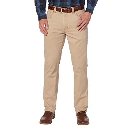 Pants Twill Brushed - G.H. Bass Men's Brushed Twill Pant (38x34, Cedarwood Khaki)