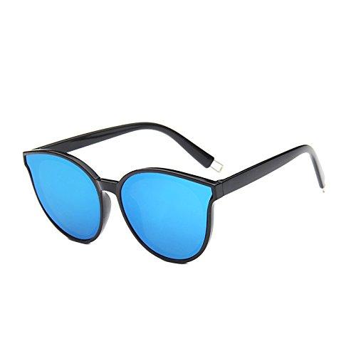 Hombres Gafas Azul Color Sunglasses Tendencia Sol Azul Gafas de Gafas de de Sol Coreana Moda de Sol Femeninas qH7vnZq1