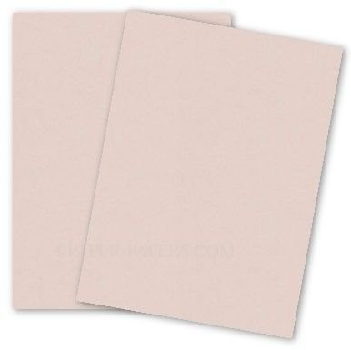 Curious Metallic - NUDE Card Stock - 111lb Cover - 8.5 x 11 - 250 PK by Paper Papers
