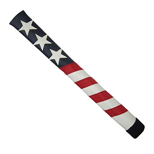 Sunfish Leather Golf Alignment Stick Cover Holds 2 Sticks Liberty (Stitch Golf)
