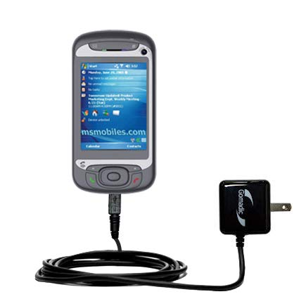 Gomadic Intelligent Compact AC Home Wall Charger Suitable The i-Mate JasJam - Uses TipExchange Technology