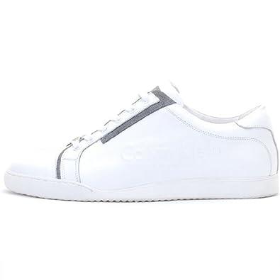 buy popular 0ea0d f1ef6 Calvin Klein Sneaker Sportschuhe Trainer Leder Stiefel ...