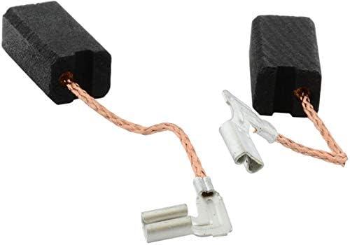 6,3x8x15mm 2.4x3.1x5.9 Escobillas de Carb/ón para METABO EW E 11150S amoladora