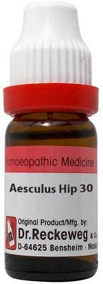 Dr. Reckeweg Germany Homeopathic Aesculus Hippocastanum (30 CH) (11 ML) by Exportdeals