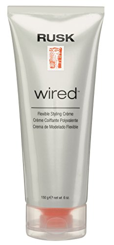 RUSK Designer Collection Wired Flexible Styling Crème, 6 fl. oz. (Best Hair Styling Products For Women)