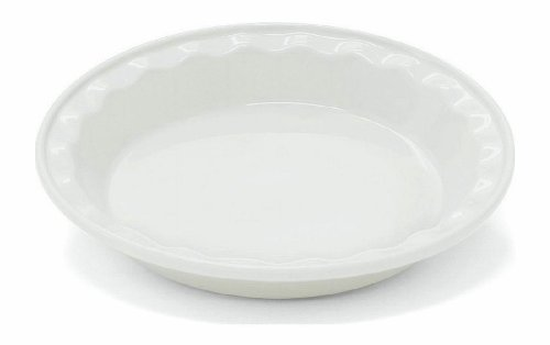 Chantal 9 Inch Easy As Pie-Dish, White ()
