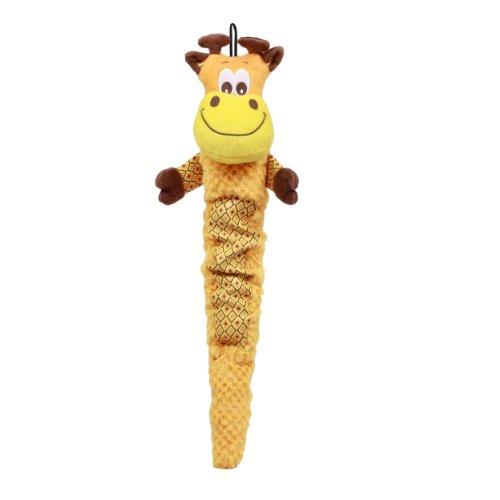 Plush Puppies Shakeable Squeaker Toy, Giraffe, My Pet Supplies