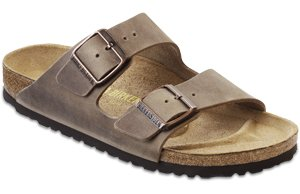 Birkenstock Arizona Birkibuc Sandal,Tobacco Oiled Leather,41 M EU / 10-10.5 B(M) US