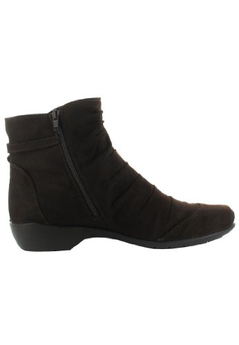 Romika Ladies Citytex 121 Moro Waxy Ankle Boot Brown RzVFHNG