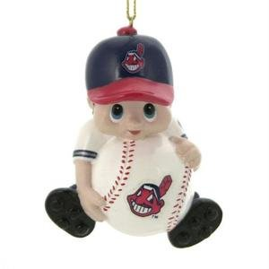 Cleveland Indians Lil Player Ornaments - set of 3
