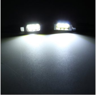 Alamor 12V 3 5630 Led Motociclo Car Patente A Vite Bullone Luce Cromata Shell-Bianco