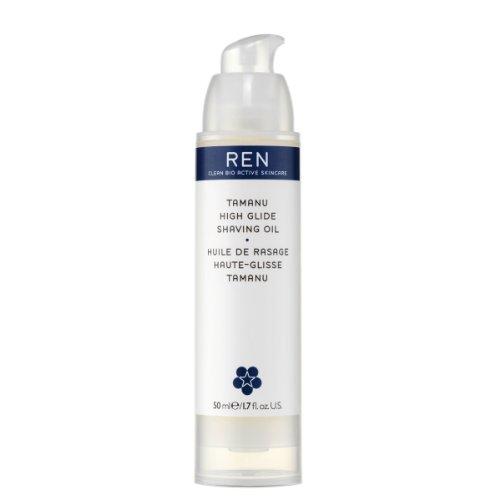 REN Tamanu High Glide Shaving Oil, Rasieröl, 50 ml