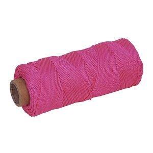 MARSHALLTOWN ML601 - Braided Nylon Mason'S Line 250' Fl. Pink, Size 18 4 Core'' by Marshalltown
