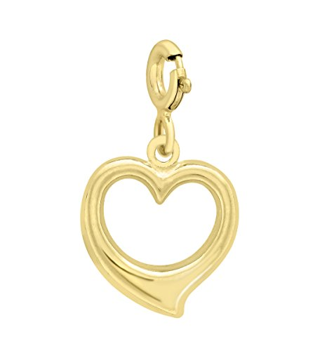 Carissima-Gold-Charms-Femme-Coeur-Or-Jaune-3751000-9-Cts-041-Gr
