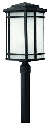 Hinkley 1271VK-LED Craftsman/Mission One Light Post Top/ Pier Mount from Cherry Creek collection in - Cherry In Creek Stores