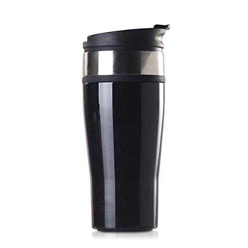 (Timolino PCT-46KONX 16 ounce Icon Vacuum Tumbler, Onyx Black)