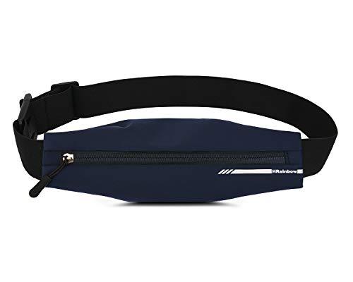 HRainbow Running Belt Bag Waterdicht voor Vrouwen Mannen Slanke Taille Pack Riem voor Dragen Telefoons Tot 7.5 inch…