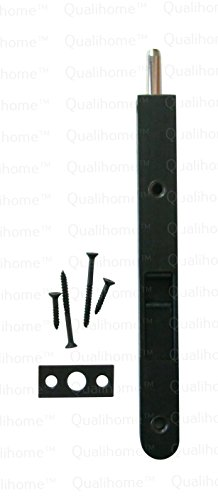 - Premium Quality Door Flush Bolt with Strike and Screws (Oil Rubbed Bronze)