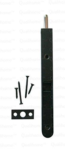 Bronze Flush Bolt (Premium Quality Door Flush Bolt with Strike and Screws (Oil Rubbed Bronze))