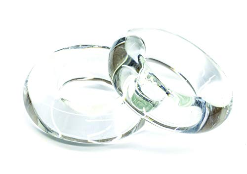 Tigress Glass Rings 1 Pr