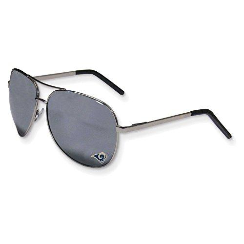 Jewelry Adviser Nfl Gifts NFL Rams Aviator Sunglasses by Jewelry Adviser Nfl Gifts