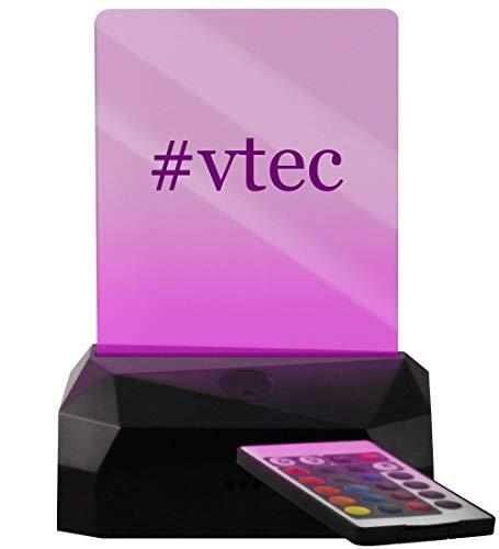 #VTEC - Hashtag LED USB Rechargeable Edge Lit Sign