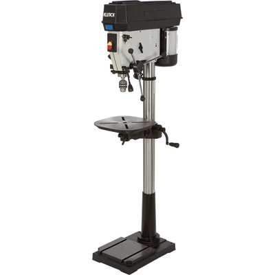 Review Of Klutch Floor Drill Press - Variable Speed with Digital Display, 17in. 1 1/2 HP, 120V