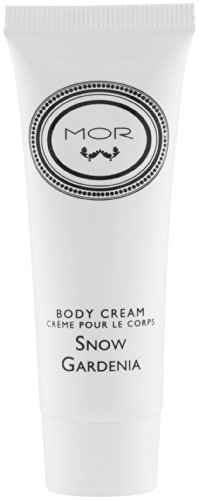 MOR Snow Gardenia Body Cream Lot of 18 each 1.1oz bottles. Total of 19.8oz