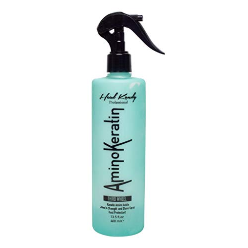 Head Kandy, Third Wheel Heat Protectant Spray, Prevents Damage & Breakage, Protect from flat irons and hair dryers, For All Hair Types