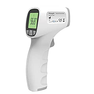 Olangda Forehead Thermometer for Adults, Non Contact Thermometer Adult Thermometer for Adults and Kids,Digital Infrared Thermometer, Kid and Baby Thermometer(Batteries Not Included)