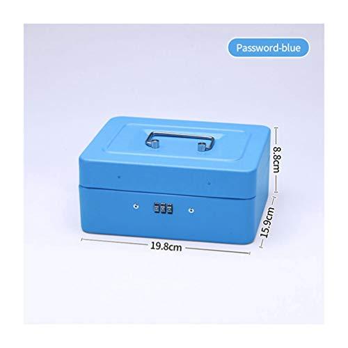 AYUNYUN Security Bank Safe Box Piggy Bank Deposit Password Key Lock Secret Boxes Home Decor