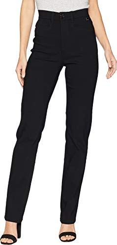 FDJ French Dressing Jeans Women's Technoslim Suzanne Straight Leg Black 8 33