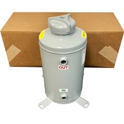 5 Gallon Chemical By-Pass Feeder with Foot Lock