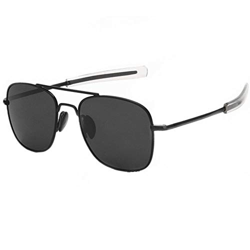7bd37fb7d9d9 Aviator Sunglasses for Man and Women with Polarized Lens Square Metal Frame