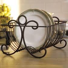 Asian arts Plates Dish Stand Plate Rack IronBlack & Buy Asian arts Plates Dish Stand Plate Rack IronBlack Online at Low ...