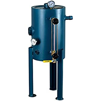 Mr Steam CU-BDT-ASME42 Blue Commercial Steambath ASME Code Blowdown Tank - Automatic Blowdown System