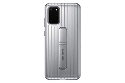 Samsung Original Galaxy S20+ 5G Protective Standing Cover/Mobile Phone Case - Silver