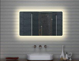 led bathroom wall mirror 120x70 amazon co uk kitchen home rh amazon co uk