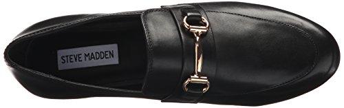 Black Madden Kerry Leather Women's Mule Steve IaHF7I