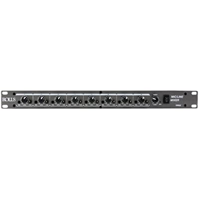rolls-rm82-8-channel-mic-line-mixer