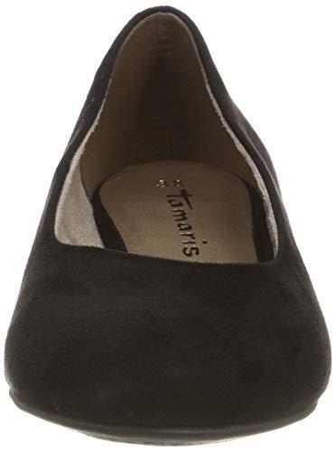 22104 001 Tamaris 1 Ballerines Femme Noir 1 black 1 22 qwFxvCUF