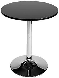 mesa auxiliar redonda amazon