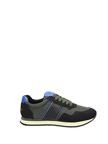 U.S. Polo Assn. NOBIL4044S6/NH2 Sneakers Homme Fibres Textiles Bleu Foncé 43