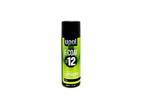 U-Pol 0890 Ecoat#12 E-Coat Repair, Black, 450 ml Aerosol