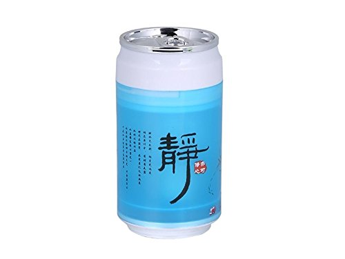 Yunqir Compatible Portable Oil Diffuser Humidifier Cans USB Humidifier Mute Household Desktop Purifying Air Ultrasonic Humidifier(Blue) by Yunqir
