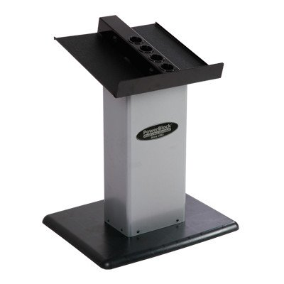 PowerBlock-Large-Column-Stand-Silver