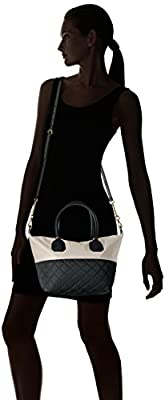 Calvin Klein Florence Quilted Nylon Large Top Zip Tote