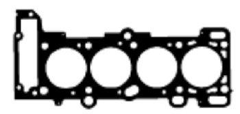 Ajusa 52133400 Gasket Set cylinder head
