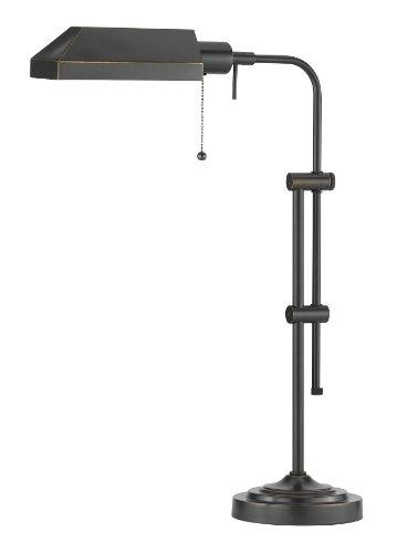 Cal Lighting BO-117TB-DB Pharmacy Table Lamp, Dark Bronze (Cal Lighting Table Lamp compare prices)