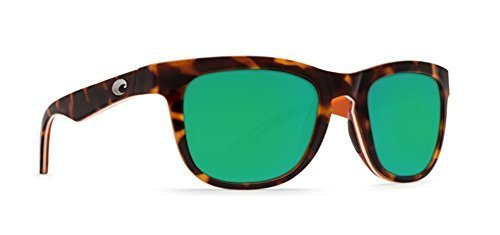 Mirror Shiny Retro Copra Green cream Costa Tort salmon Sunglasses HFqS87